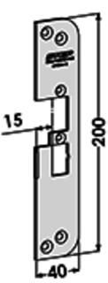 MONTERINGSSTOLPE ST4030H-15 STEP