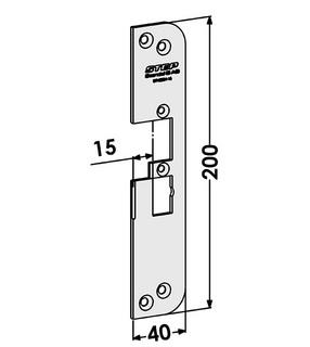 Monteringsstolpe ST4030H-15 Höger