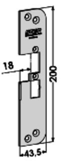 MONTERINGSSTOLPE ST4030H-18 STEP