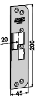 MONTERINGSSTOLPE ST4030H-20 STEP