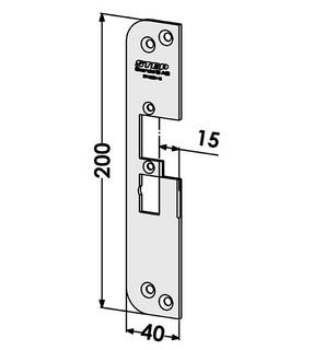 Monteringsstolpe ST4030V-15 Vänster