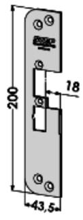 MONTERINGSSTOLPE ST4030V-18 STEP