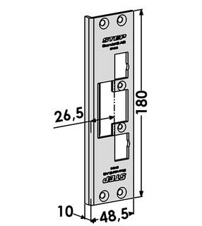Monteringsstolpe ST4048