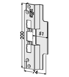 Monteringsstolpe ST4052