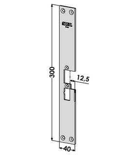 Monteringsstolpe ST4055