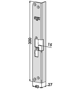 Monteringsstolpe ST4057