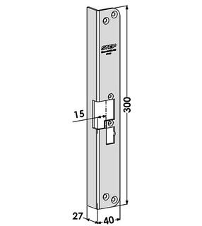 Monteringsstolpe ST4058