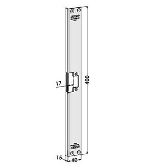 Monteringsstolpe ST4067