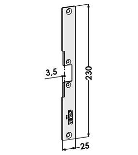 Monteringsstolpe ST4068