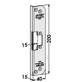 Monteringsstolpe ST4073