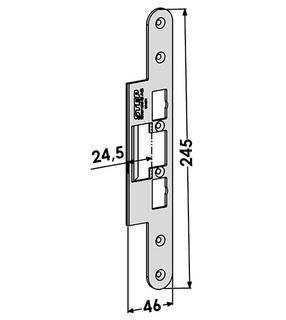 Monteringsstolpe ST4077