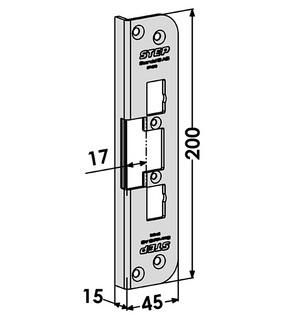 Monteringsstolpe ST4078