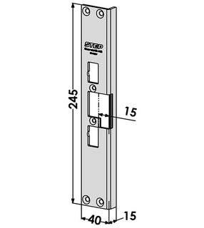 Monteringsstolpe ST4082V Vänster