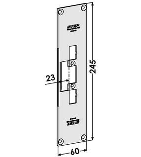 Monteringsstolpe ST4087-23