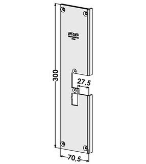 Monteringsstolpe ST4096