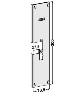 Monteringsstolpe ST4097