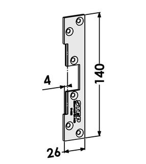 Monteringsstolpe ST4020
