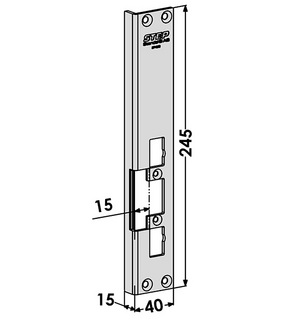 Monteringsstolpe ST4853