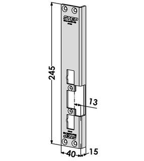 Monteringsstolpe ST4855