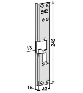 Monteringsstolpe ST6070