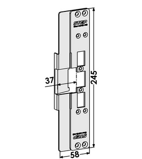 Monteringsstolpe ST6519