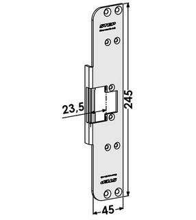 Monteringsstolpe ST6577
