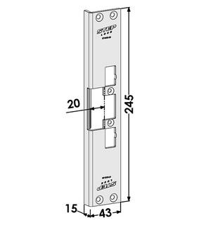 Monteringsstolpe ST4002-20