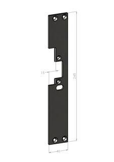 Monteringsstolpe SA601H-15 Höger