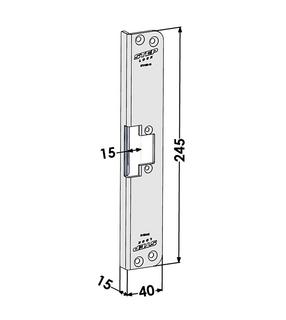 Monteringsstolpe ST4160-15