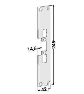 Monteringsstolpe ST4117